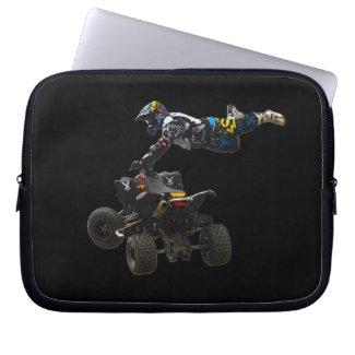 quad bike laptop computer sleeve
