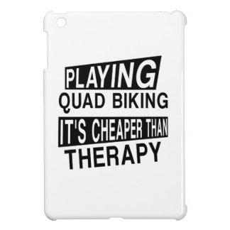 QUAD BIKING It Is Cheaper Than Therapy iPad Mini Case