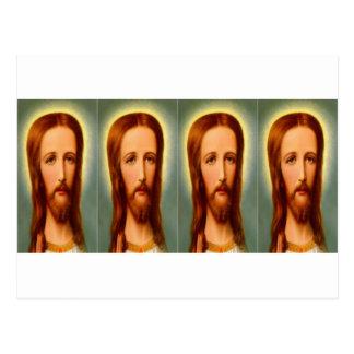 Quad Christ Postcard