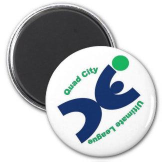 Quad City Ultimate League Magnet