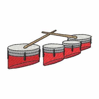 Quad Drum Set Embroidered Shirt