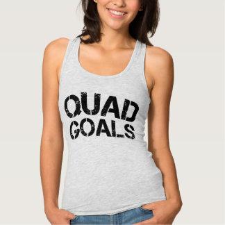 Quad Goals Racerback Tank Top