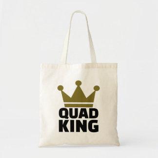 Quad king tote bag