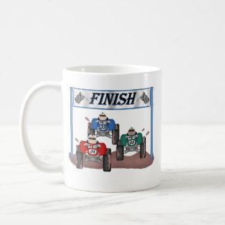 Quad Racing Classic White Coffee Mug