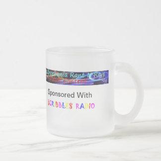 Quad-rant-n-rave blogspot 10 oz frosted glass coffee mug