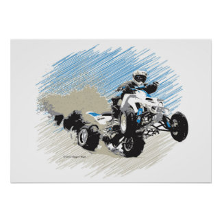Quad Roost Poster