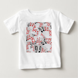 Quad Tens In A Layered Pattern, Baby T-Shirt
