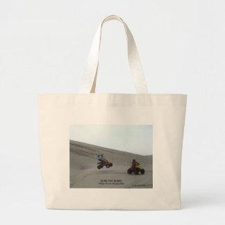 Quad The Dunes Oregon Coast Sand Fun 4 Wheel Large Tote Bag