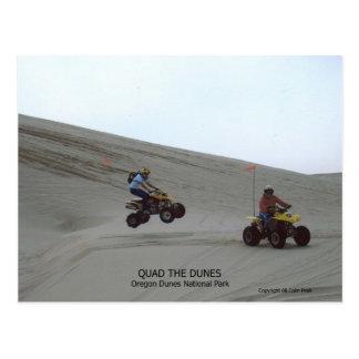 Quad The Dunes Oregon Coast Sand Fun 4 Wheel Post Card