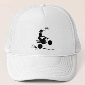 QUAD WHEELIES TRUCKER HAT