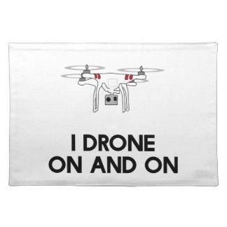 Quadcopter del abejón I sin cesar Manteles Individuales