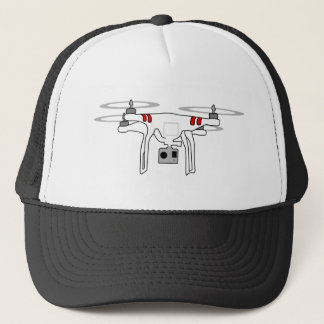 Quadcopter Drone shirt Trucker Hat