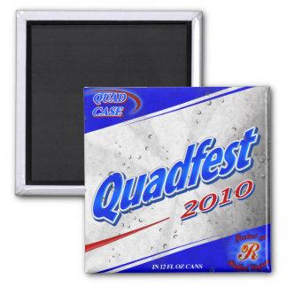 Quadfest 2010 Magnet