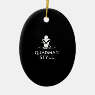 QUADMAN STYLE CHRISTMAS ORNAMENTS
