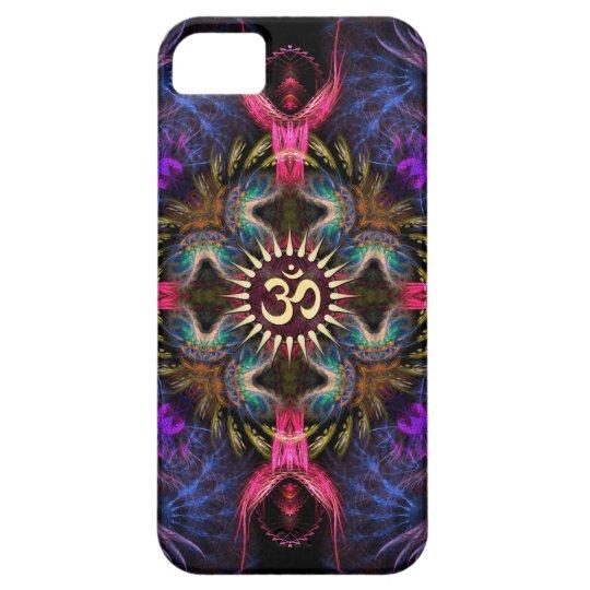Quadra Angels Fractal Art Aum iPhone Case