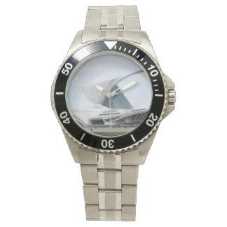 "Quadracci Pavillion ""The Milwaukee Art Museum"" Wristwatch"