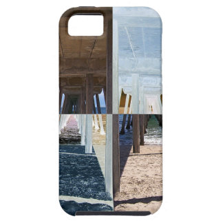 Quadrants of An Ocean Pier iPhone SE/5/5s Case