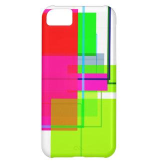 Quadrat-Retro Muster iPhone 5 Hüllen Case For iPhone 5C