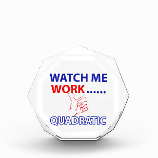 quadratic mathematics design award