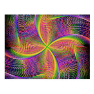 Quadratic rainbow postcard