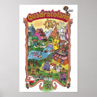 Quadratoland Poster