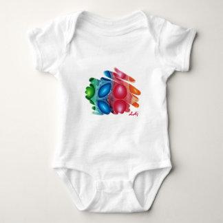 Quadric Spirals Baby Bodysuit
