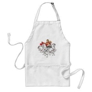 quadriga adult apron