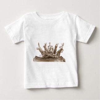 Quadriga in Paris, France Baby T-Shirt