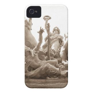Quadriga in Paris, France iPhone 4 Case