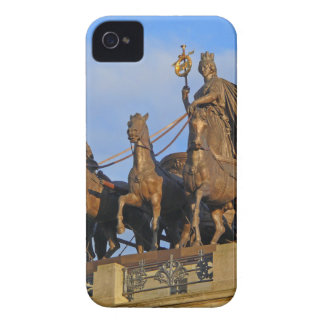 Quadriga on Brunswick Castle, Germany iPhone 4 Case-Mate Case