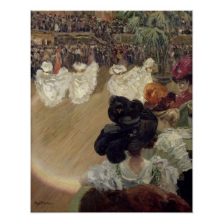 Quadrille at the Bal Tabarin Poster