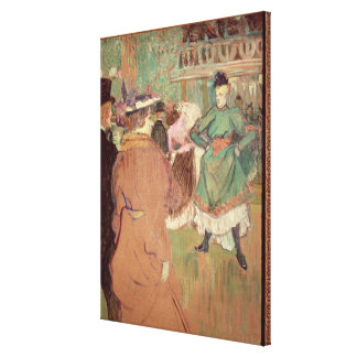 Quadrille at the Rouge, 1892 Canvas Print
