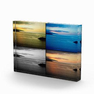 Quadriptych seascape at sunset award