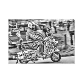 Quadrophenia - the Scooter Years Canvas Print