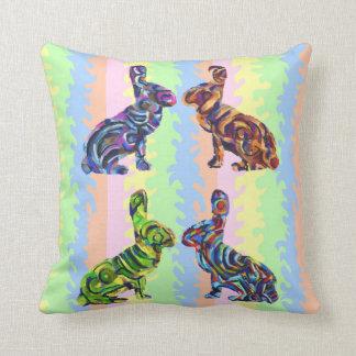 Quadruple Easter Bunny Pillow