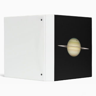 Quadruple Saturn Moons in Transit 3 Ring Binder