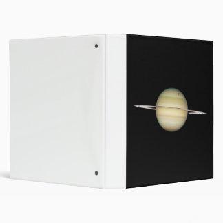 Quadruple Saturn Moons in Transit 3 Ring Binder