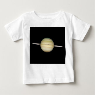 Quadruple Saturn Moons in Transit Baby T-Shirt