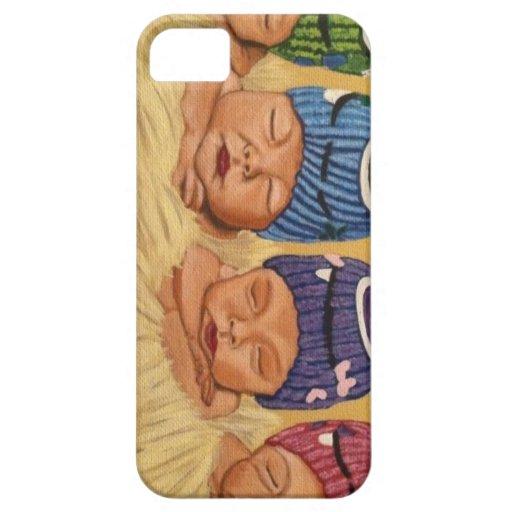 Quadruplets iPhone 5/5S Covers