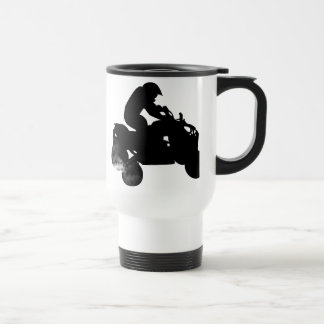 quads. 15 oz stainless steel travel mug