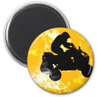 quads. 2 inch round magnet