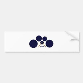 quads bumper sticker