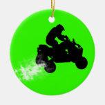 quads christmas tree ornaments