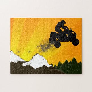 quads : dirt trail jigsaw puzzle