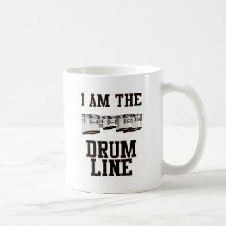 Quads: I Am The Drum Line Classic White Coffee Mug