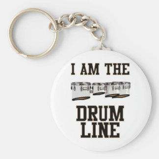 Quads: I Am The Drum Line Keychain