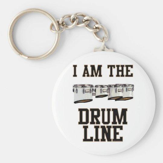 Quads: I Am The Drum Line Keychain