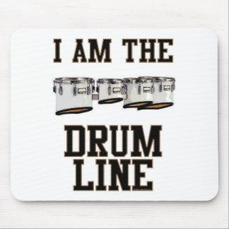 Quads: I Am The Drum Line Mouse Pad