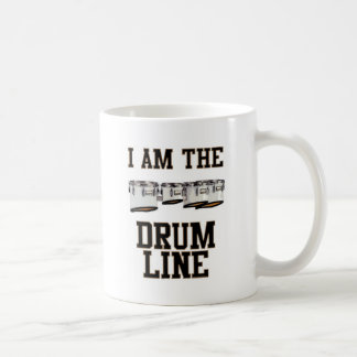 Quads: I Am The Drum Line Coffee Mug