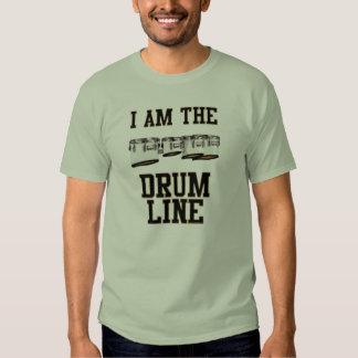 Quads: I Am The Drum Line Tee Shirt